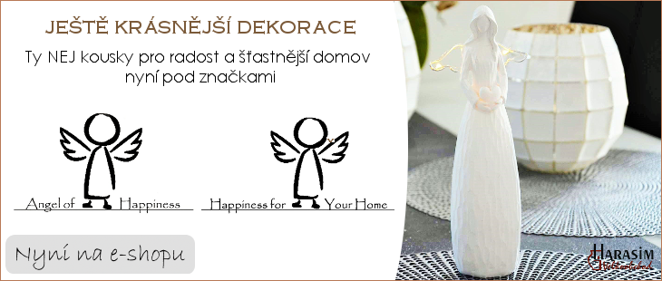 Nové značky: Angel of Happiness a Happiness for Your Home