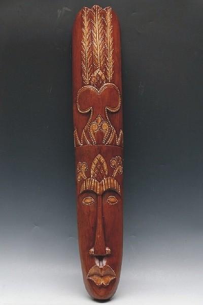 Dřevěná maska 98 cm  a042658c91