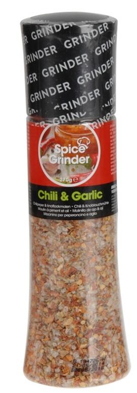 Koření - himalájská sůl, mlýnek 3 druhy