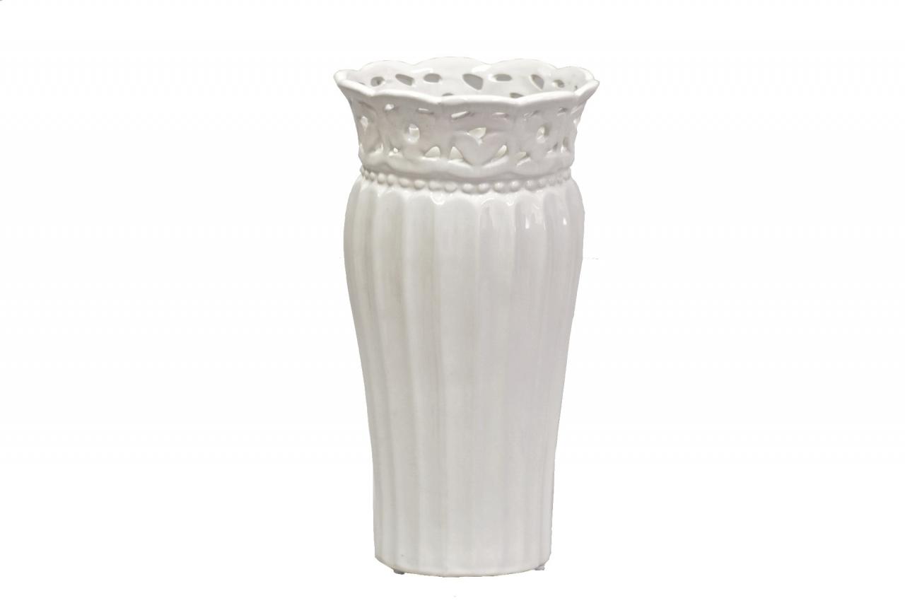 Keramická váza Rustik 23,5x12,5 cm