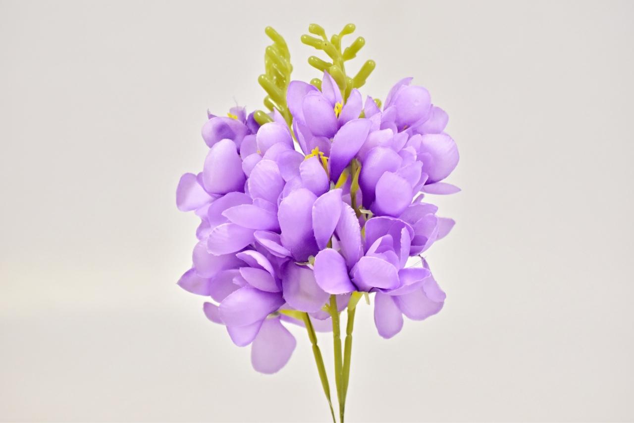 Umělá frézie 26 cm, světle fialová