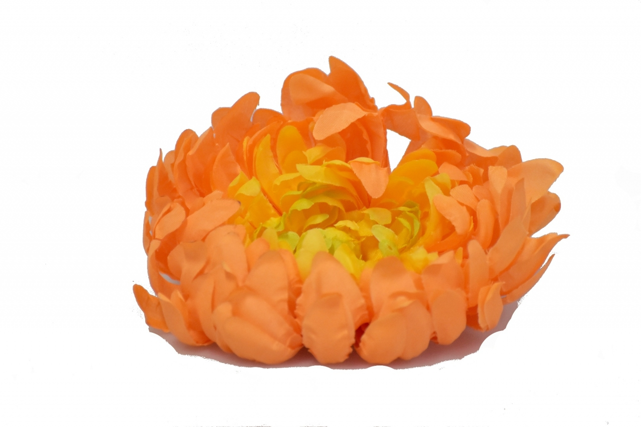 Vazbová chryzantéma 15 cm, oranžová