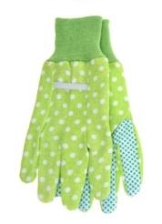 Zahradnické rukavice zelené L