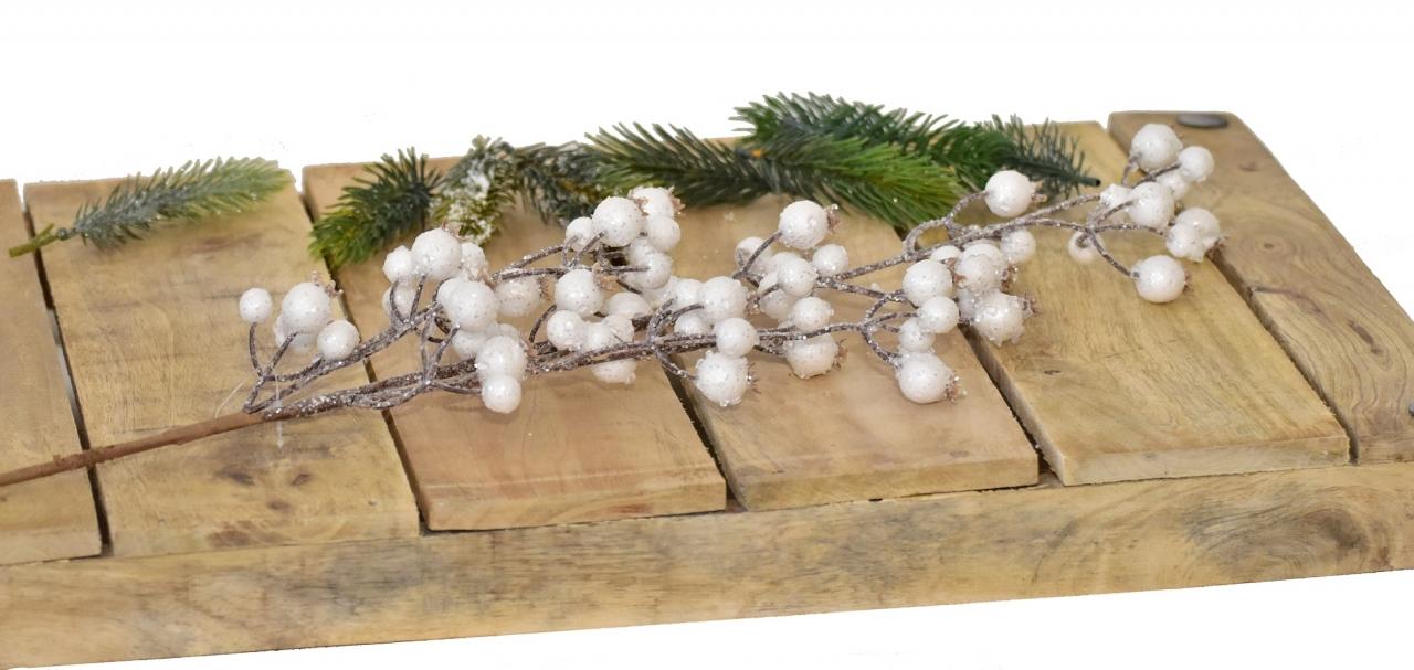 Vánoční větvička s glitry, 70 cm