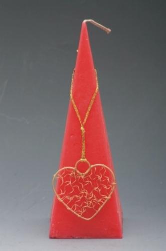 Valenstýnská svíčka pyramida 240