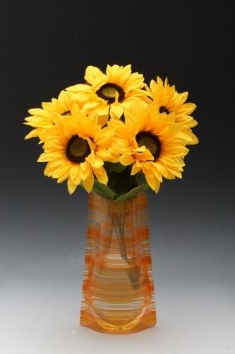 Skládací plastová váza