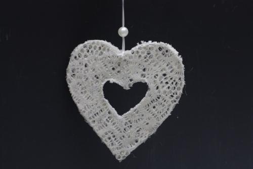 Srdce na zavěšení 15 cm