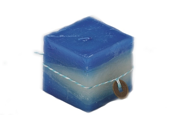 Svíčka modrá 7,5 cm