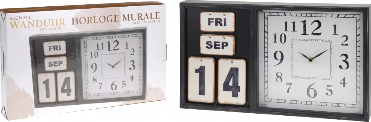 Hodiny s kalendářem