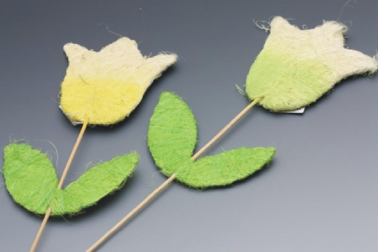 Tulipán ze sisalu 50 cm