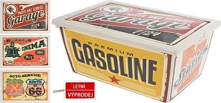 Úložný plastový box 5 l