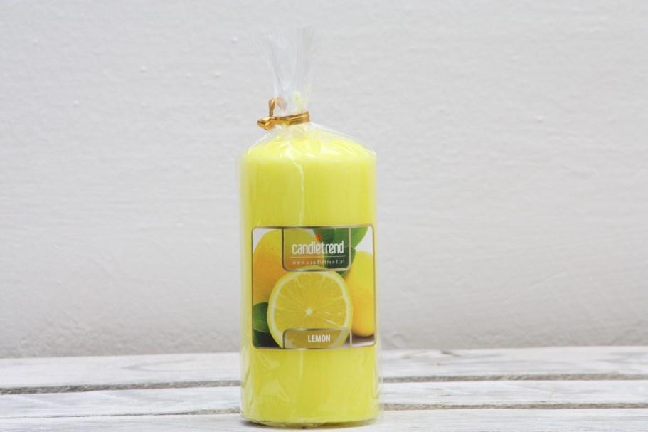 Svíčka válec Lemon 11 cm
