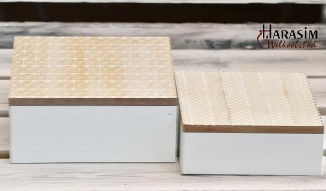 Dřevěná krabička Nordic s/2