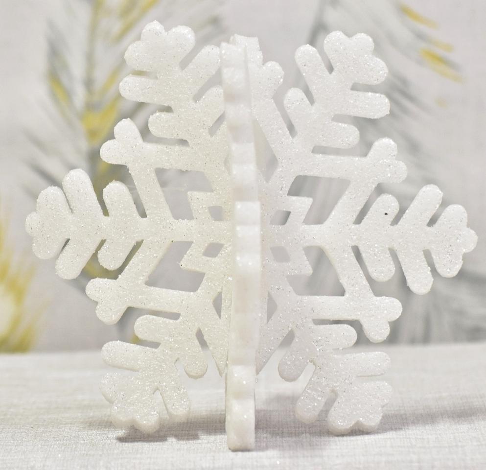 Sněhová vločka 19,5 cm