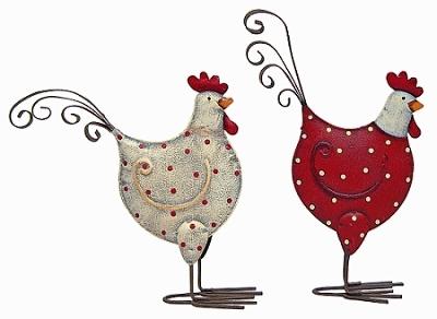 Kovový ptáček kropenatý S