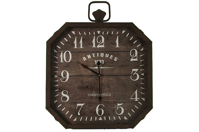 Kovové nástěnné hodiny ANTIQUES