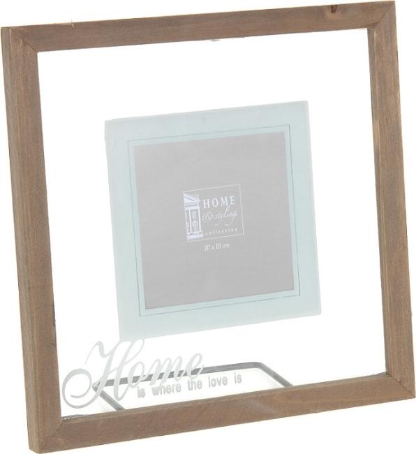 Skleněný fotorámeček 23 x 23 cm