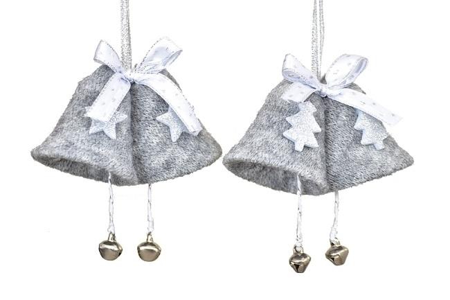 Vánoční zvoneček, šedý