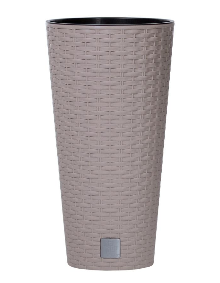 Květináč Rato Tubus mocca 30 cm