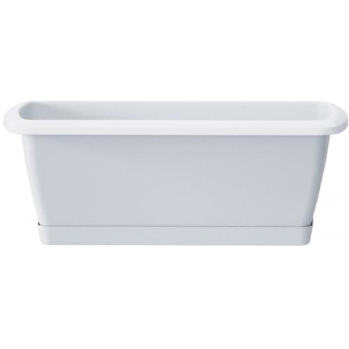 Plastový truhlík Respana Set 49 cm bílý