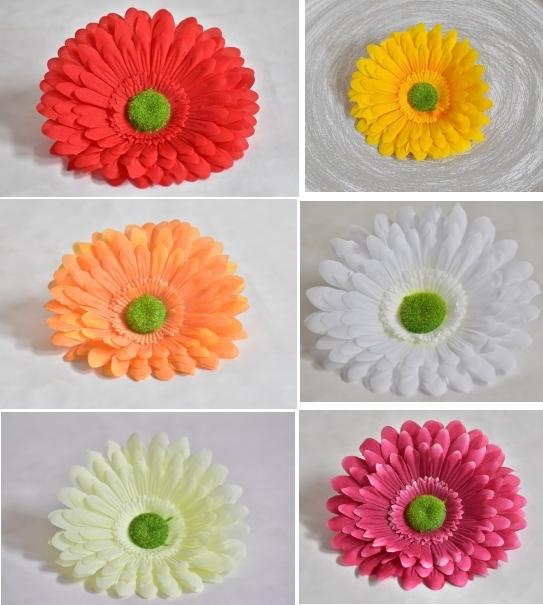 Květy Gerbera
