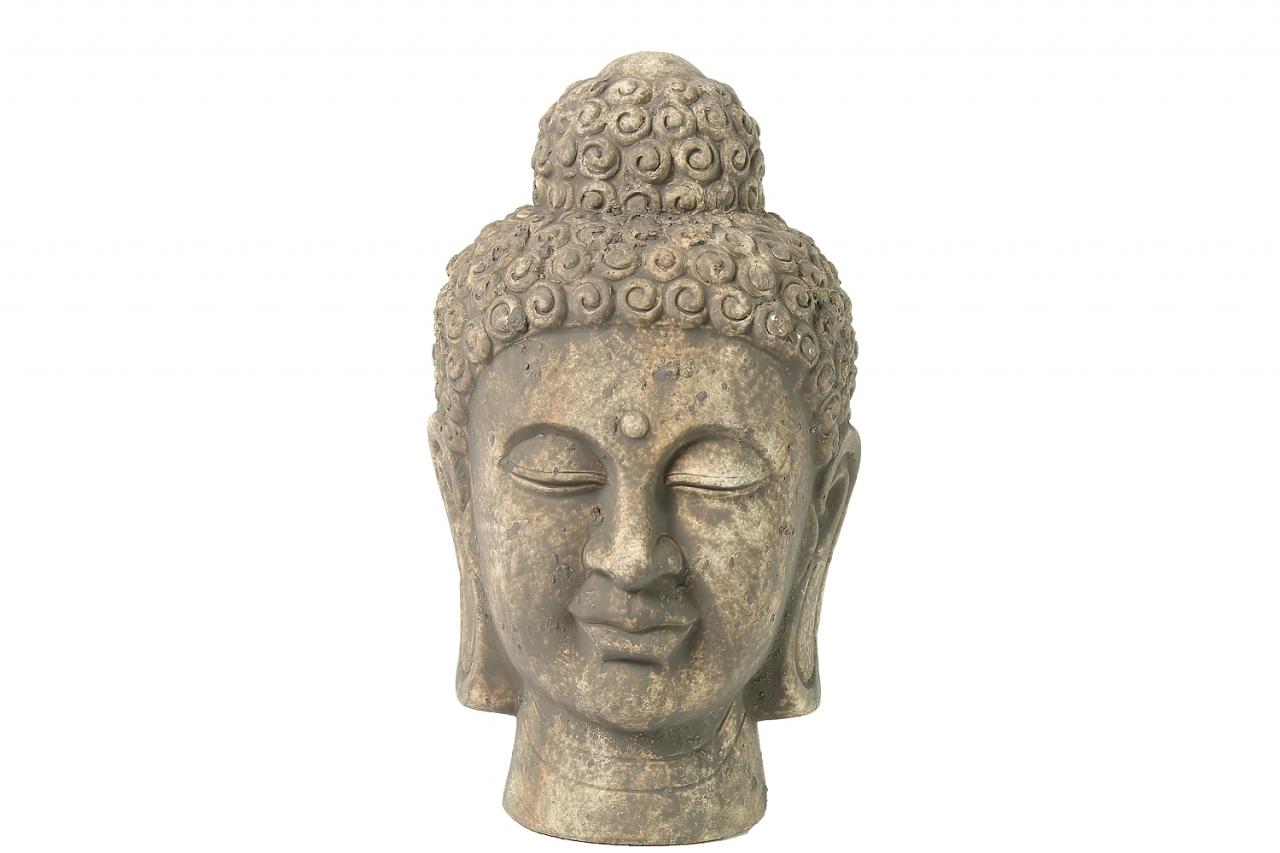 Dekorace hlava Buddha M