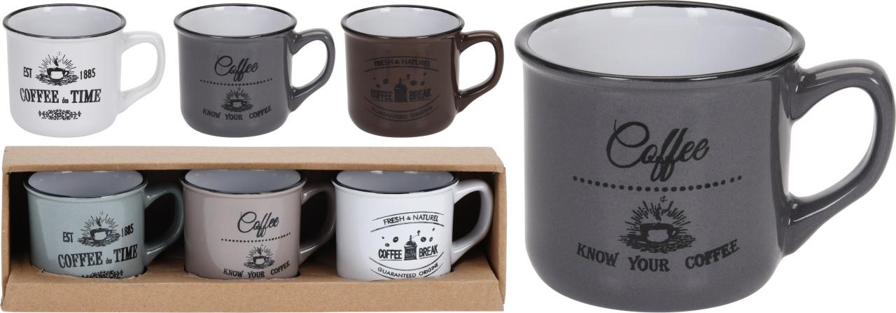 Hrnek Coffee 180 ml s/3
