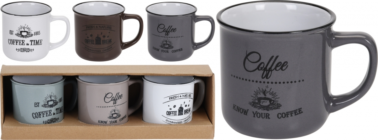 Hrnek Coffee 330 ml s/3