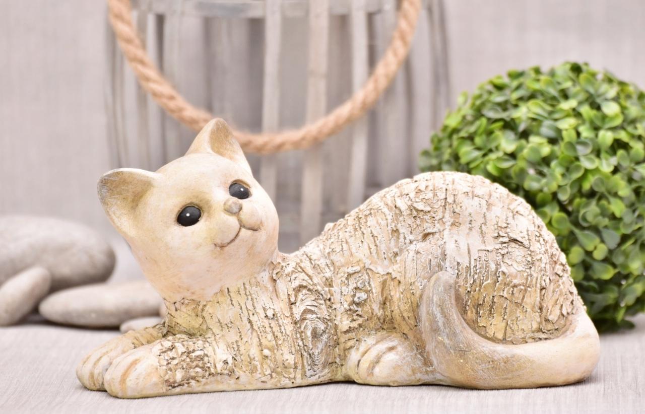 Kočka Mia 14x14,5x27,6 cm