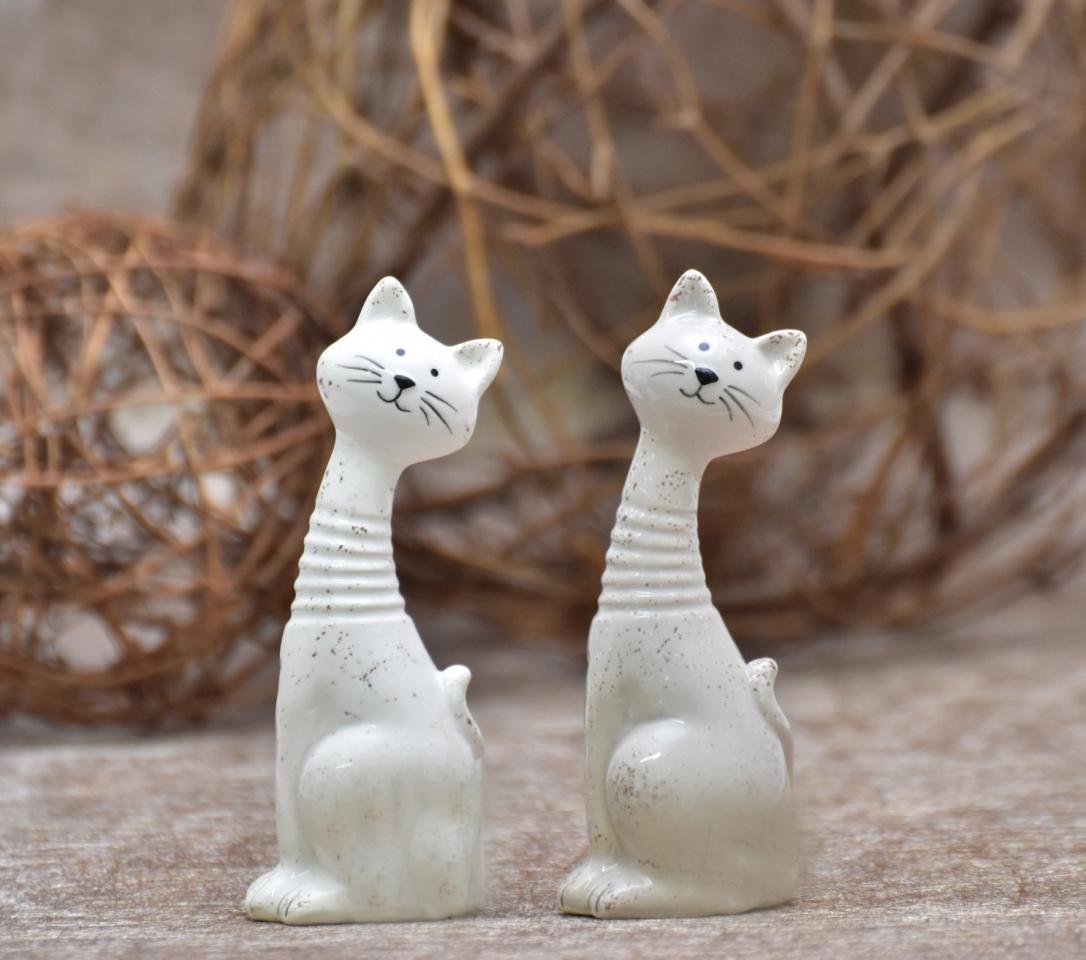 Keramická kočka 11 cm