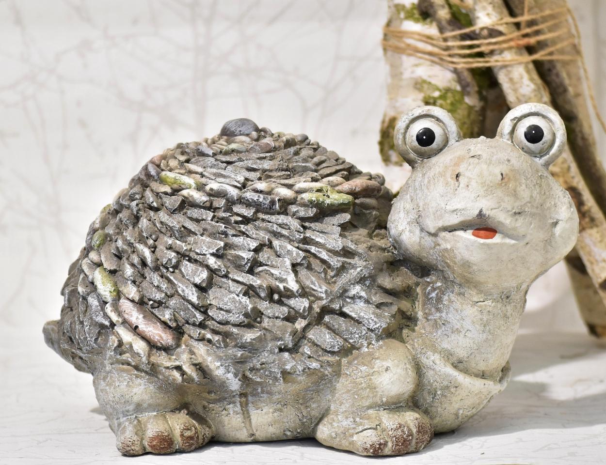 Dekorace želva 19,5x9,5x13,5 cm