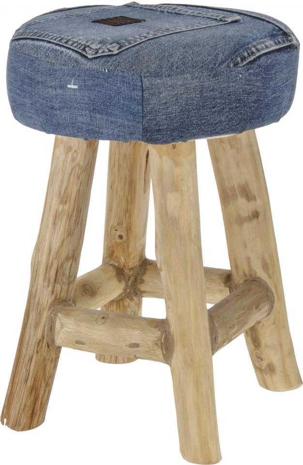 Dřevěná stolička Jeans Teak wood