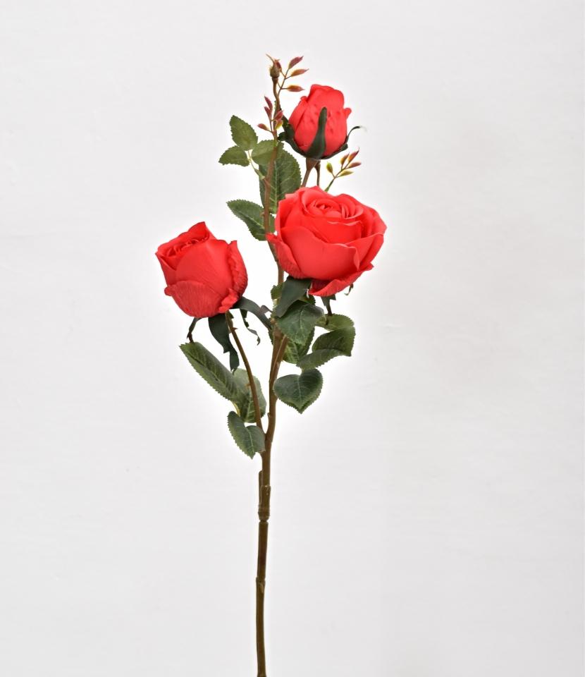 Růže červená 78 cm