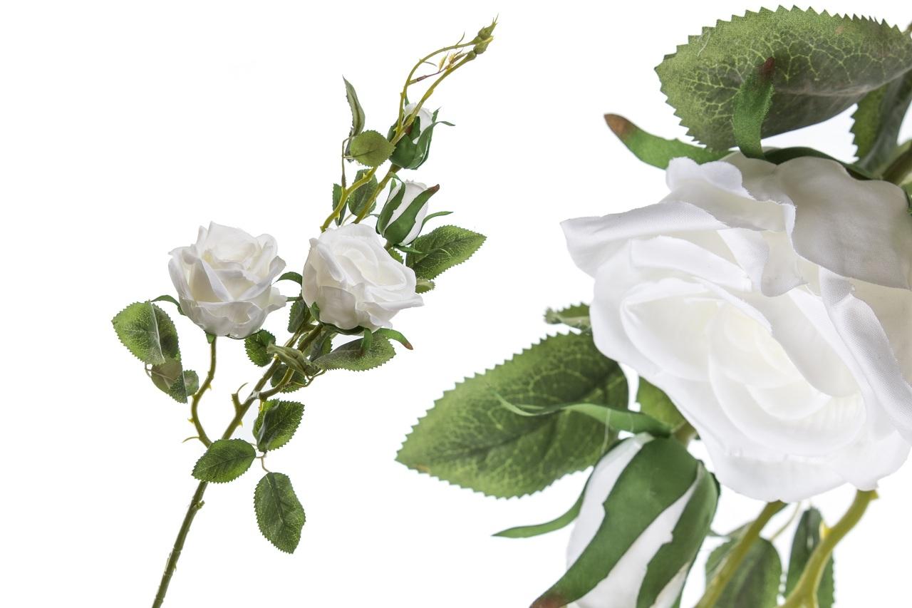 Růže bílá 90 cm