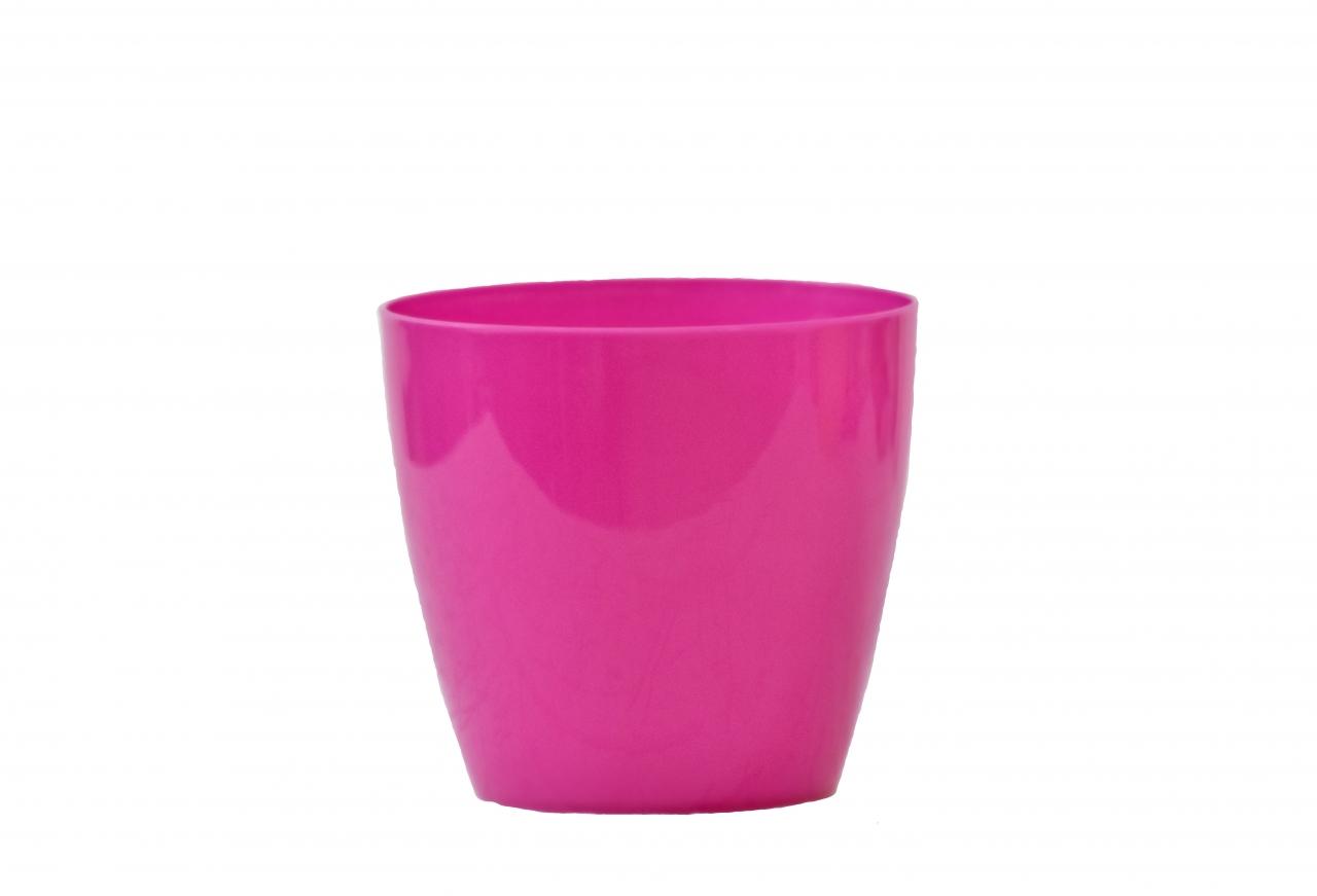 Plastový květináč Aga 95 mm, fuchsie