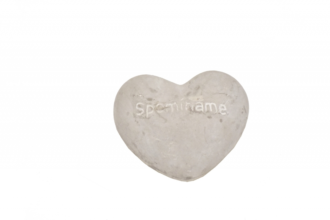 Srdce cement Spomíname