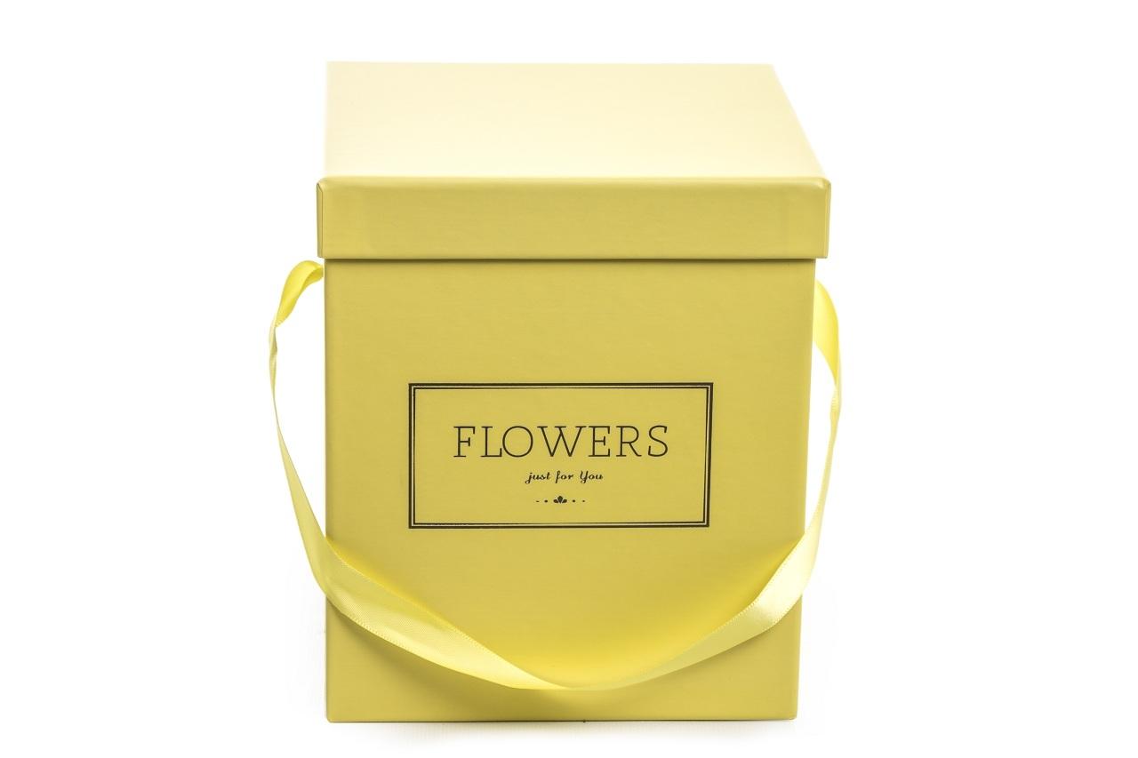 Flower box žlutý