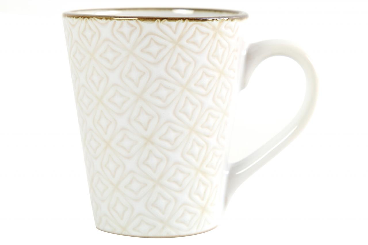 Porcelánový hrnek Viola bílý