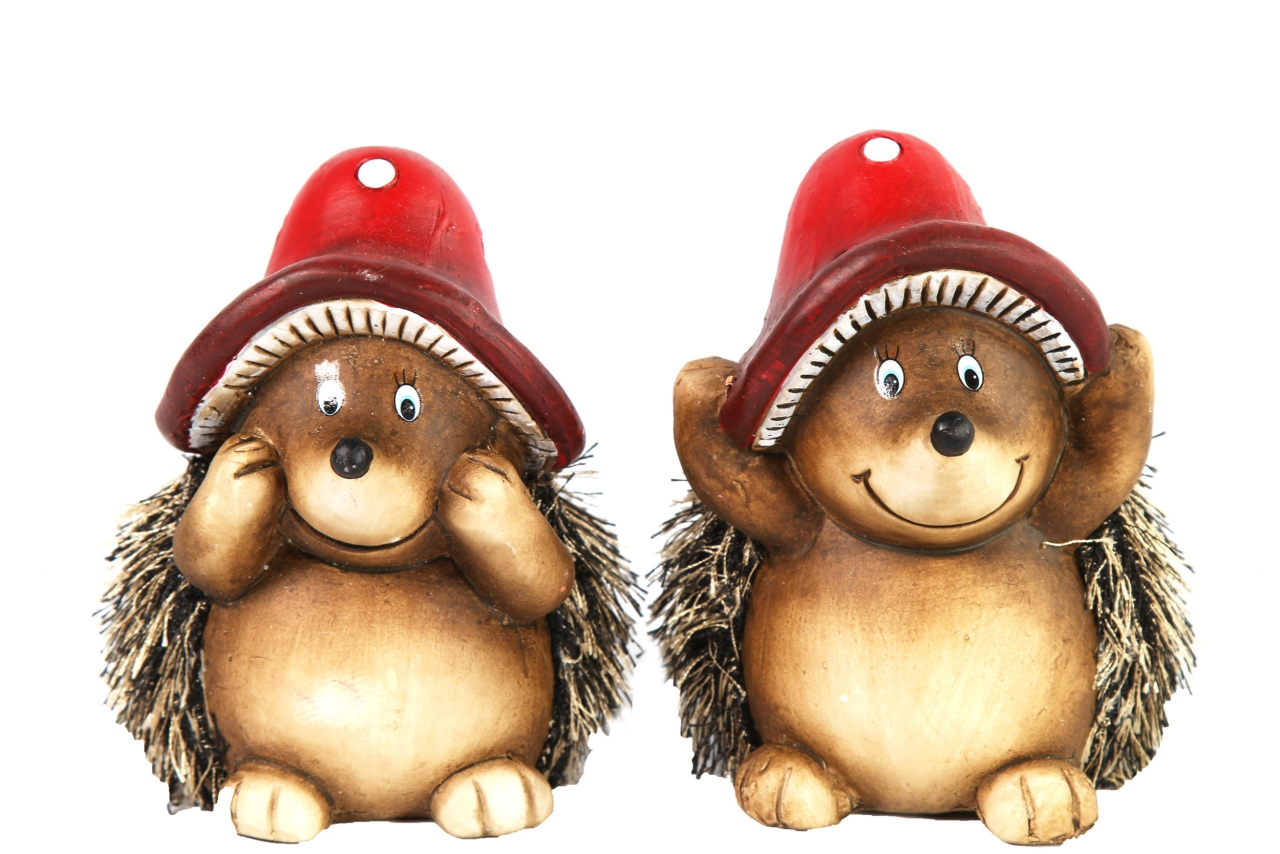 Keramický ježek Karly 12 cm