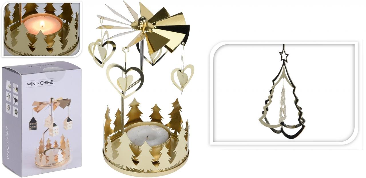Andělské zvonění zlaté stromek