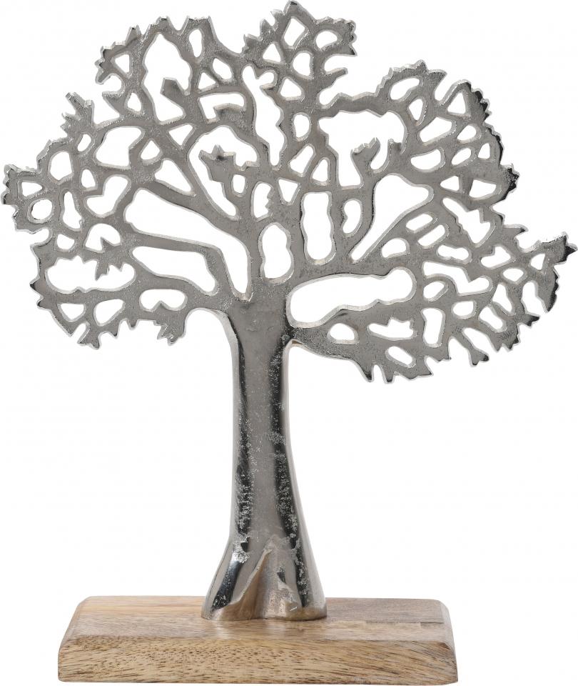 Dekorace strom na podstavci 27 cm