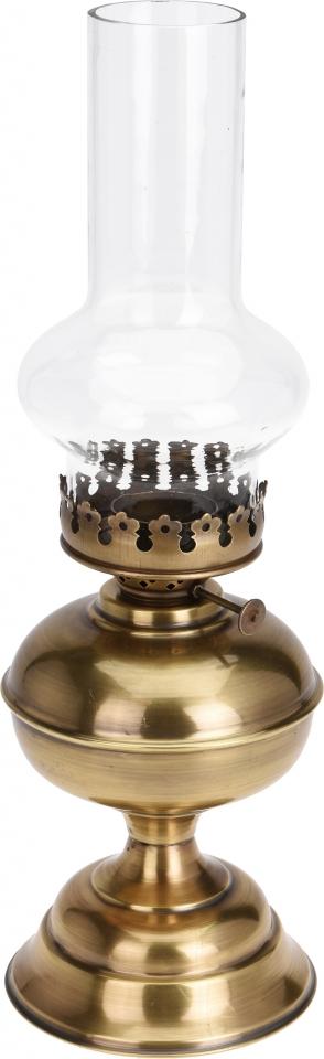 Lampa na čajovou svíčku Vintage 40 cm zlatá