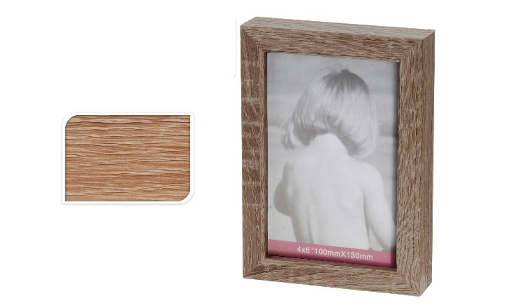 Fotorámeček hnědý 12x17 cm