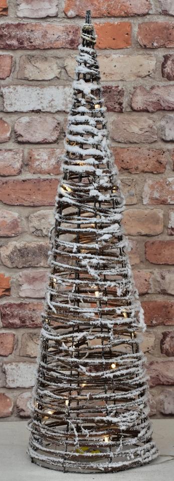 Vánoční jehlan LED 79 cm