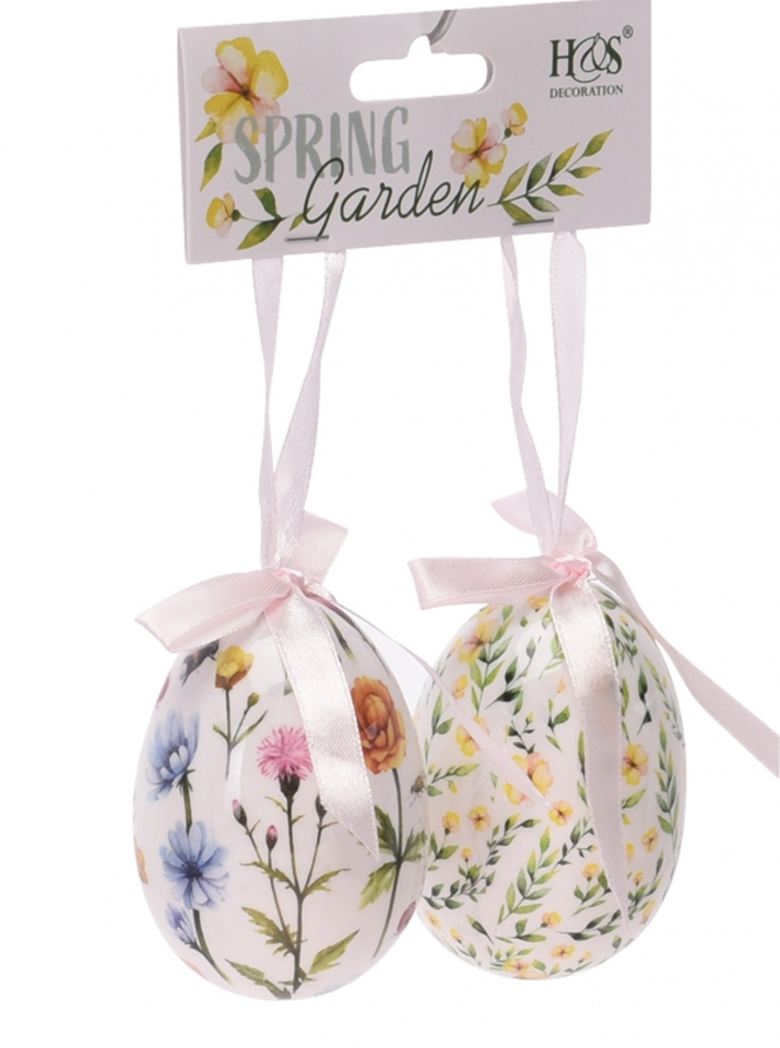 Velikonoční vajíčka s/2 Flowers