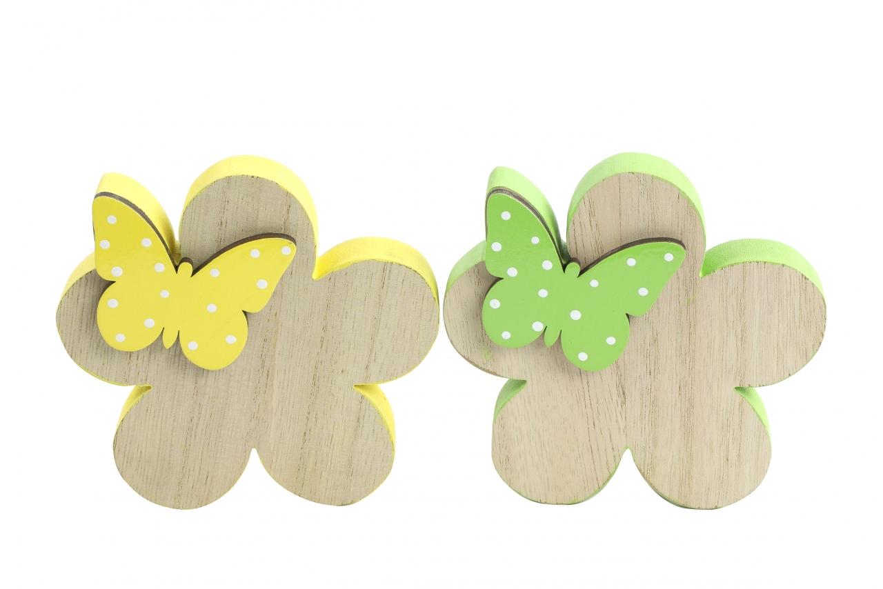 Květinka s motýlkem Meggie S