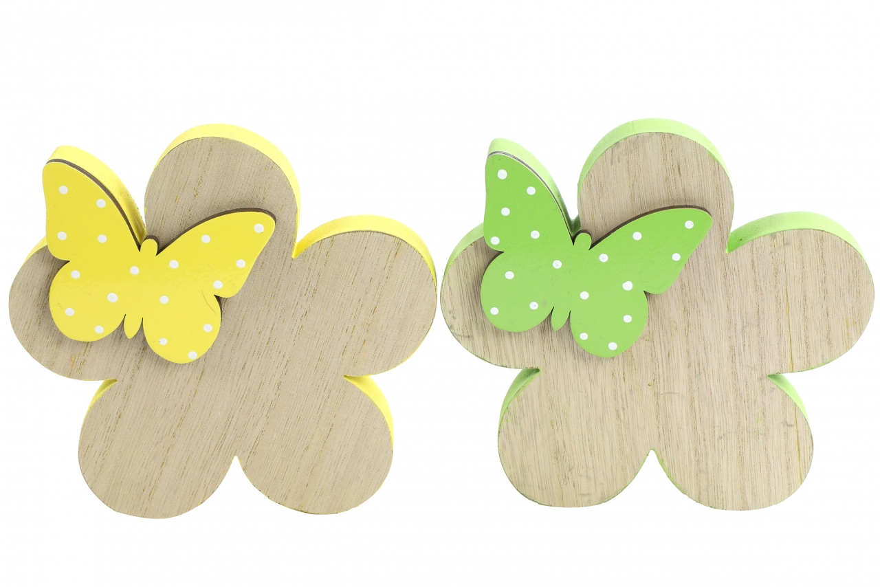 Květinka s motýlkem Meggie L