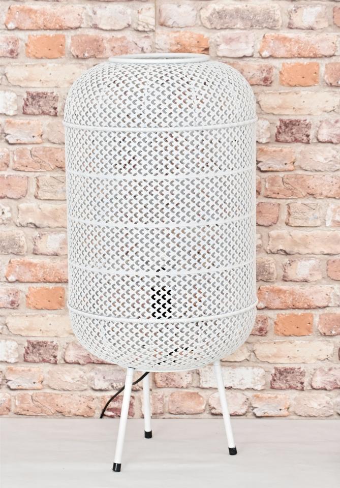 Zinková lampa Nova S, bílá