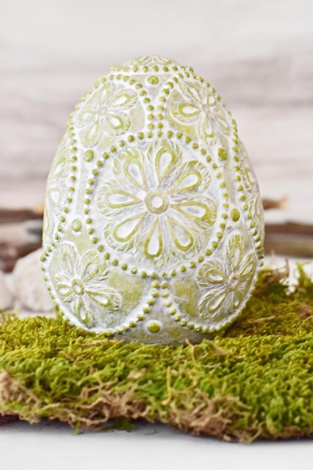 Velikonoční vajíčko Ornament Green L