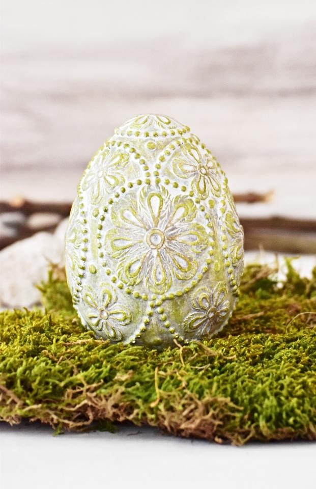 Velikonoční vajíčko Ornament Green S